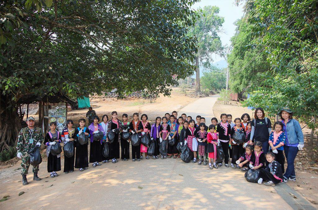 Lanna Language Litter Picking Project